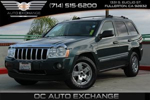 2005 Jeep Grand Cherokee Limited Carfax 1-Owner - No AccidentsDamage Reported  Deep Beryl Gree