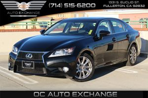 2014 Lexus GS 350 AWD Carfax 1-Owner - No AccidentsDamage Reported  Black          34113 Pe