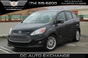 2013 Ford C-Max Energi SEL Carfax 1-Owner - No AccidentsDamage Reported  Tuxedo Black Metallic