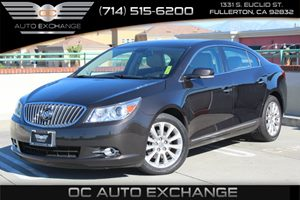 2013 Buick LaCrosse Leather Carfax 1-Owner  Gray 2013 BUICK LaCROSSE LEATHER-  GRAY ON LIGHT