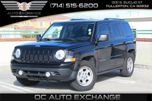 2014 Jeep Patriot Sport Carfax Report  Black Clearcoat 2014 JEEP PATRIOT SPORT  2L 4 CYLINDER