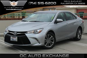 2015 Toyota Camry SE Carfax 1-Owner  Celestial Silver Metallic          19906 Per Month - On