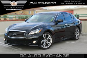 2013 Infiniti M37  Carfax 1-Owner  Black Obsidian          32849 Per Month - On Approved Cre