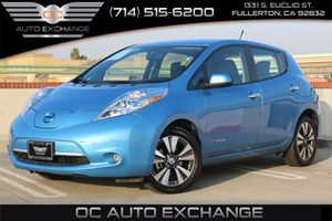 2013 Nissan LEAF SL Carfax 1-Owner - No AccidentsDamage Reported  Blue Ocean  YouGre going