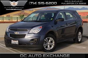 2014 Chevrolet Equinox LS Carfax 1-Owner - No AccidentsDamage Reported  Atlantis Blue Metallic