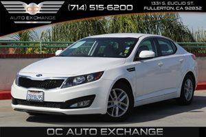2013 Kia Optima LX Carfax 1-Owner - No AccidentsDamage Reported  Snow White Pearl  We are not