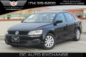 2014 Volkswagen Jetta Sedan S Carfax 1-Owner - No AccidentsDamage Reported  Black Uni