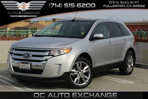 2013 Ford Edge SEL Carfax 1-Owner  Ingot Silver Metallic  We are not responsible for typograph