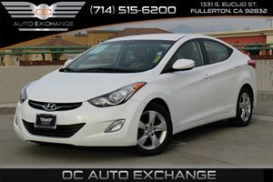 2013 Hyundai Elantra GLS Carfax 1-Owner - No AccidentsDamage Reported  Pearl White Mica  We a