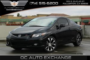 2013 Honda Civic Cpe Si Carfax 1-Owner  Crystal Black Pearl  We are not responsible for typogr