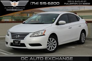 2014 Nissan Sentra SV Carfax 1-Owner - No AccidentsDamage Reported  Aspen White 2014 NISSAN S