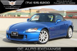 2007 Honda S2000  Carfax 1-Owner - No AccidentsDamage Reported  Laguna Blue Pearl  We are not