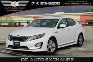 2015 Kia Optima Hybrid  Carfax 1-Owner - No AccidentsDamage Reported  Snow White Pearl  We ar