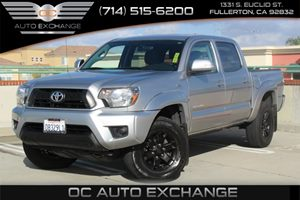 2014 Toyota Tacoma PreRunner Carfax 1-Owner  Silver Sky Metallic  We are not responsible for t