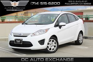 2013 Ford Fiesta S Carfax Report - No AccidentsDamage Reported  Ingot Silver Metallic