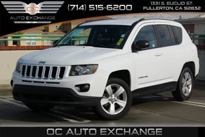2016 Jeep Compass Sport Carfax 1-Owner  Bright White Clearcoat  We are not responsible for typ