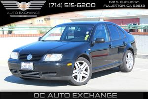 2003 Volkswagen Jetta Sedan GLS Carfax Report - No AccidentsDamage Reported  Black  We are no
