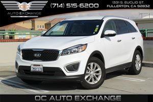 2016 Kia Sorento LX Carfax Report  Snow White Pearl          25102 Per Month - On Approved C