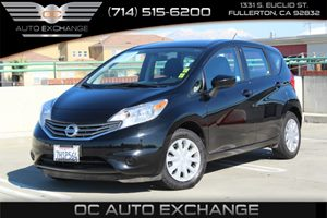 2015 Nissan Versa Note SV Carfax 1-Owner  Super Black  We are not responsible for typographica