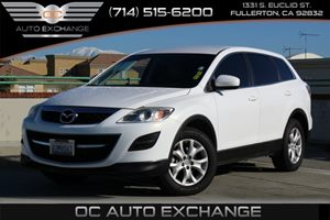 2011 Mazda CX-9 Sport Carfax Report - No AccidentsDamage Reported  Crystal White Pearl Mica