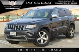 2014 Jeep Grand Cherokee Limited Carfax 1-Owner  Gray  We are not responsible for typographica
