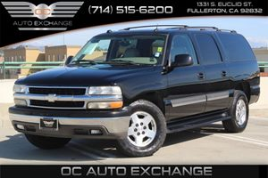 2005 Chevrolet Suburban LT Carfax Report - No AccidentsDamage Reported  Black          1098