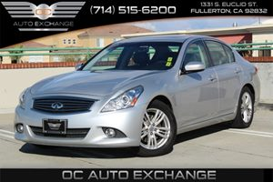 2013 INFINITI G37 Sedan Journey Carfax Report - No AccidentsDamage Reported  SILVER