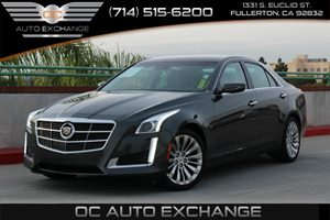 2014 Cadillac CTS Sedan Luxury RWD Carfax 1-Owner - No AccidentsDamage Reported  Phantom Gray