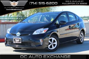 2014 Toyota Prius Three Carfax 1-Owner - No AccidentsDamage Reported  Black          18606