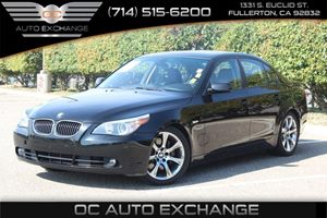 2006 BMW 5 Series 550i Carfax 1-Owner - No AccidentsDamage Reported  Black Sapphire Metallic