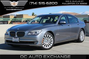 2012 BMW 7 Series 750i xDrive Carfax Report - No AccidentsDamage Reported  Space Gray Metallic
