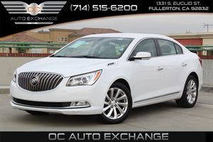 2015 Buick LaCrosse Leather Carfax 1-Owner  Summit White          22504 Per Month - On Appro