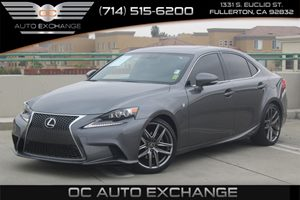 2014 Lexus IS 250  Carfax 1-Owner - No AccidentsDamage Reported  Nebula Gray Pearl