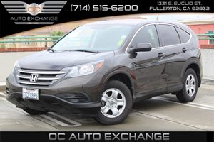 2013 Honda CR-V LX Carfax 1-Owner  Brown          18606 Per Month - On Approved Credit