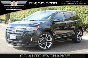 2013 Ford Edge Sport Carfax 1-Owner - No AccidentsDamage Reported  Tuxedo Black Metallic