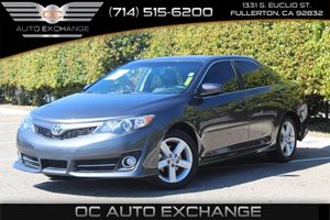 2014 Toyota Camry SE Carfax 1-Owner - No AccidentsDamage Reported  Cosmic Gray Mica