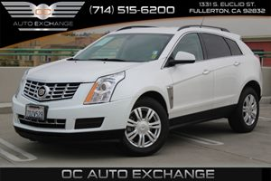 2014 Cadillac SRX Base Carfax 1-Owner  White  We are not responsible for typographical errors