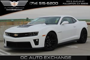 2015 Chevrolet Camaro ZL1 Carfax 1-Owner  Summit White          51808 Per Month - On Approve