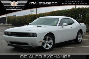 2014 Dodge Challenger RT Carfax 1-Owner  Bright White Clearcoat          277 Per Month - On