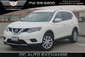 2015 Nissan Rogue S Carfax 1-Owner - No AccidentsDamage Reported  Glacier White          199