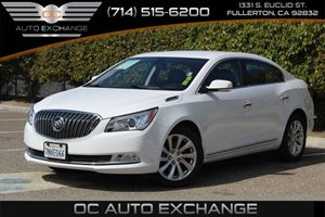 2016 Buick LaCrosse Leather Carfax 1-Owner  Summit White          23803 Per Month - On Appro