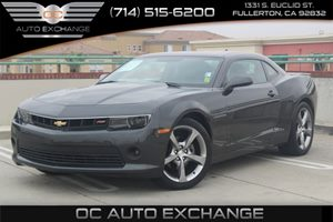 2014 Chevrolet Camaro LT Carfax 1-Owner - No AccidentsDamage Reported  Ashen Gray Metallic