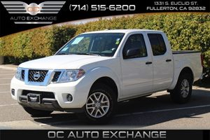 2016 Nissan Frontier SV Carfax 1-Owner - No AccidentsDamage Reported  Glacier White