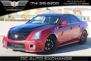 2012 Cadillac CTS-V Sedan  Carfax Report - No AccidentsDamage Reported  Crystal Red Tintcoat