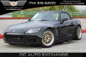2003 Honda S2000  Carfax Report - No AccidentsDamage Reported  Berlina Black  We are not resp