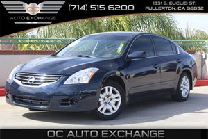 2011 Nissan Altima 25 S Carfax Report  Navy Blue Metallic          13086 Per Month - On App