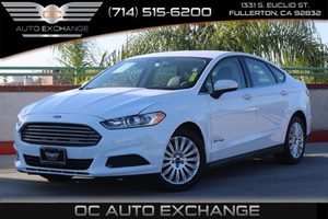 2014 Ford Fusion S Hybrid Carfax 1-Owner - No AccidentsDamage Reported  Oxford White  We are