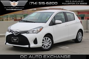 2016 Toyota Yaris L Carfax 1-Owner - No AccidentsDamage Reported  Super White  We are not res