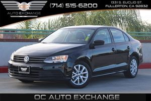 2015 Volkswagen Jetta Sedan 18T SE Carfax 1-Owner - No AccidentsDamage Reported  Black