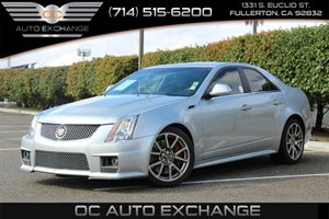 2014 Cadillac CTS-V Sedan  Carfax 1-Owner  Radiant Silver Metallic          51808 Per Month